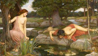 El Mito de Narciso, mitología griega