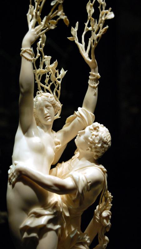 Apolo y Dafne, escultura de Bernini