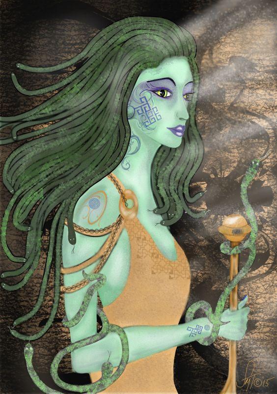 gorgonas, mitología griega