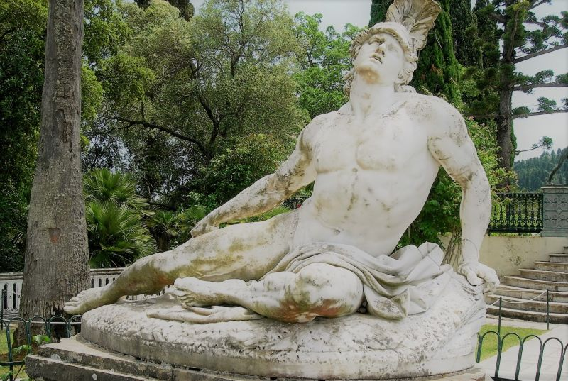 Aquiles  Quién fue, vida y muerte, Guerra de Troya, relación con Patroclo