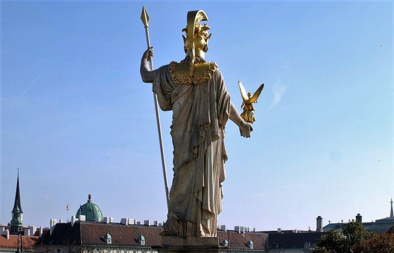 Diosa Atenea Historia, mitología griega, protectora de Atenas, quién fue